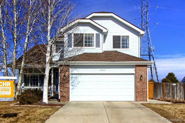 Photo of home for sale at 21665 Whirlaway Avenue, Parker CO