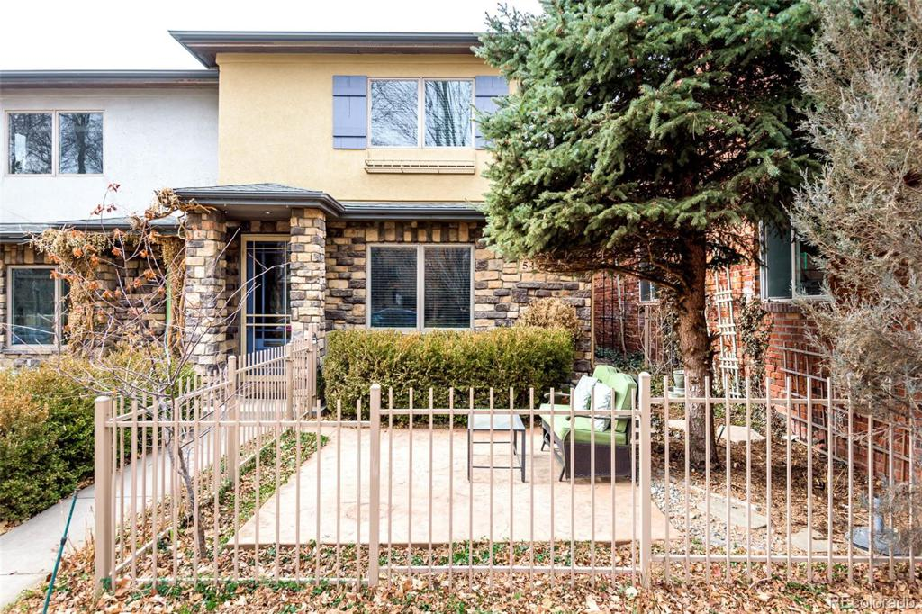 Photo of home for sale at 549 Milwaukee Street, Denver CO