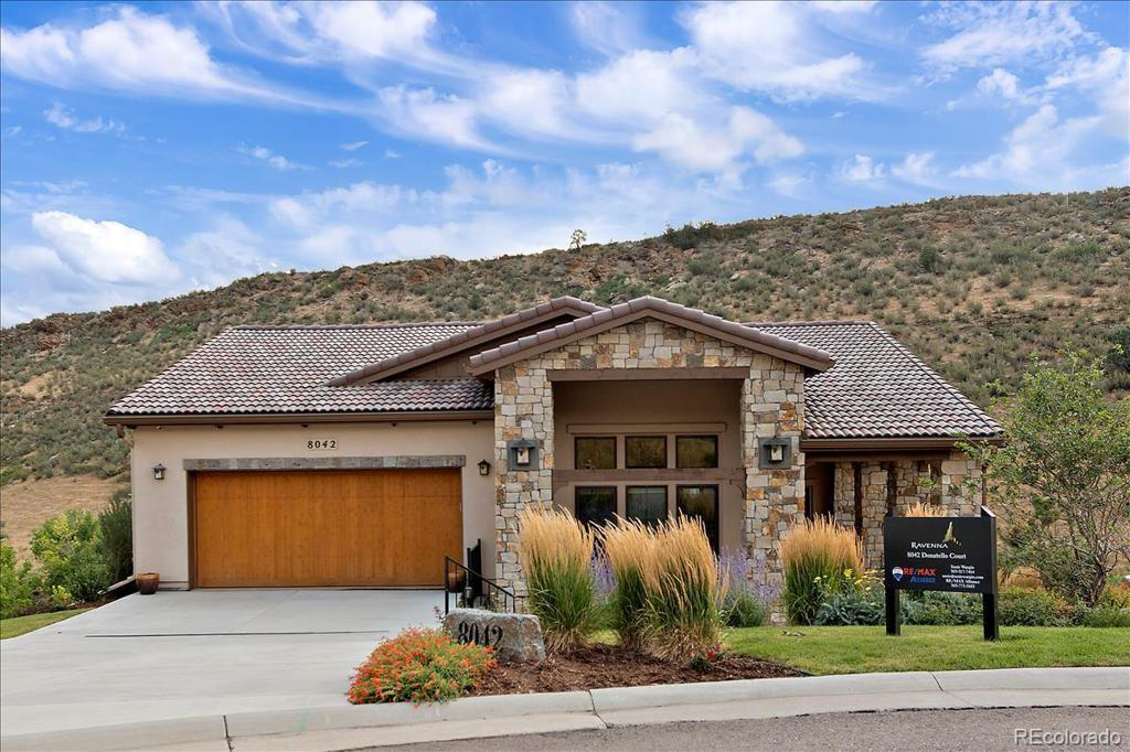 Photo of home for sale at 8042 Donatello Court, Littleton CO