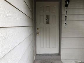 Property for sale at 9640 West Chatfield Avenue Unit: D, Littleton,  Colorado 80128