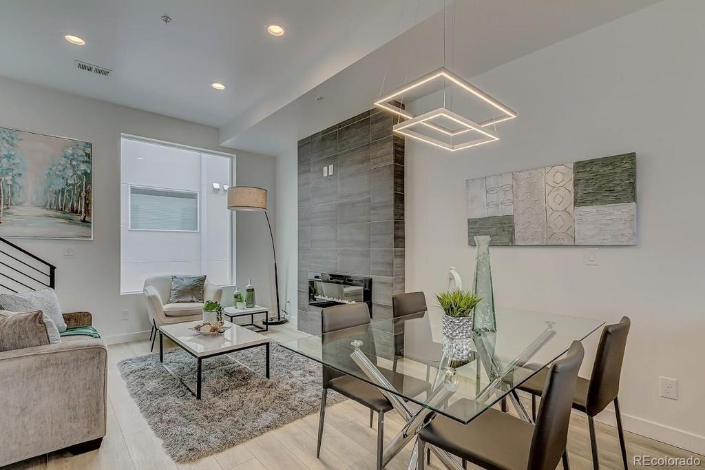 Photo of home for sale at 1616 Irving Street, Denver CO