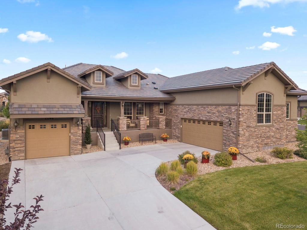Photo of home for sale at 15746 Wild Horse Drive, Broomfield CO