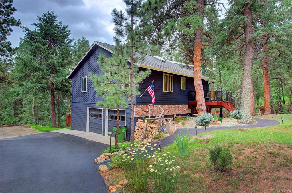 Photo of home for sale at 176 Cottonwood Drive, Evergreen CO