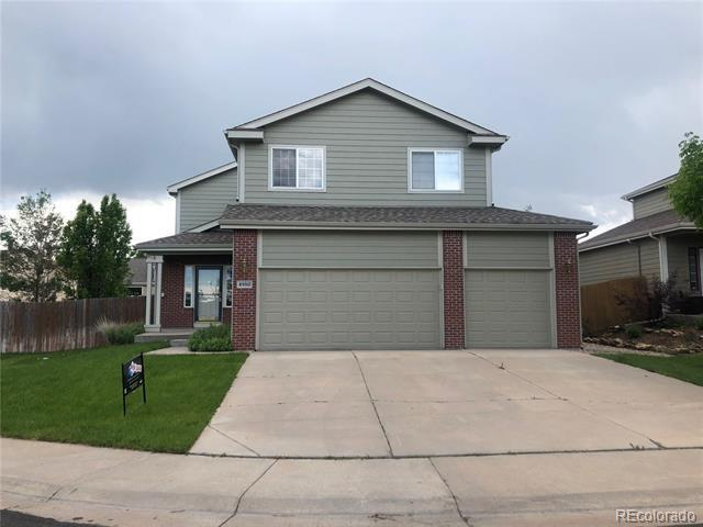 Photo of home for sale at 4980 Northbrook Avenue, Castle Rock CO