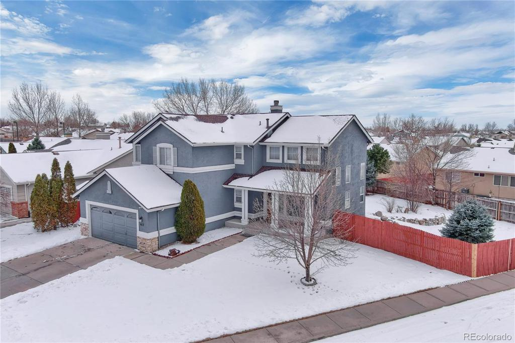 Photo of home for sale at 617 Greenscape Lane, Colorado Springs CO