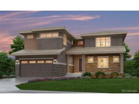 Property for sale at 16346 Ute Peak Way, Broomfield,  Colorado 80023
