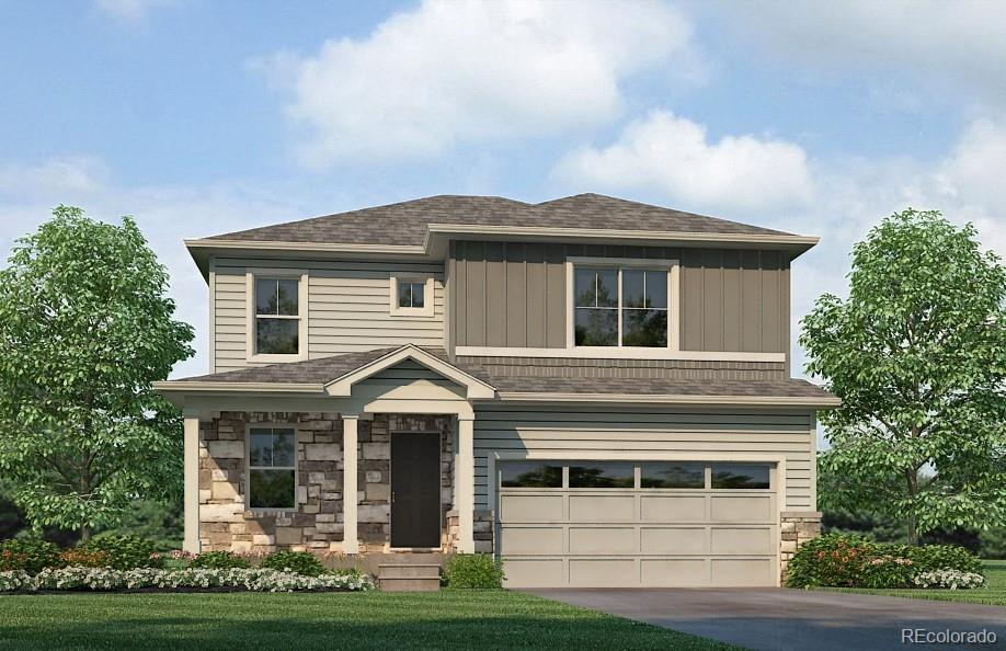 Photo of home for sale at 2180 Rosette Lane, Castle Rock CO