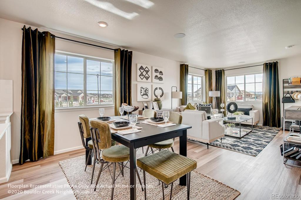 Photo of home for sale at 1109 Hummingbird Circle, Longmont CO