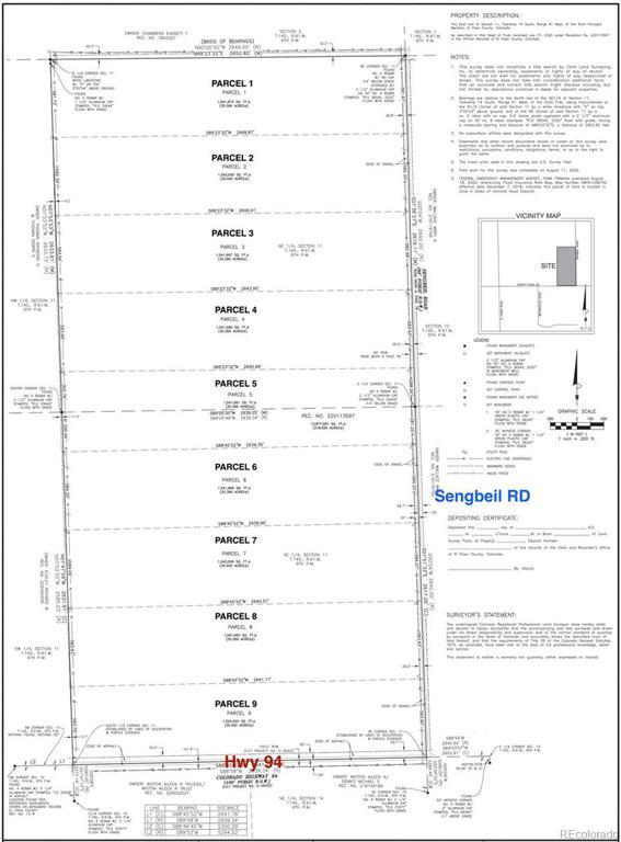 Photo of home for sale at Parcel 7 Sengbeil Road, Yoder CO