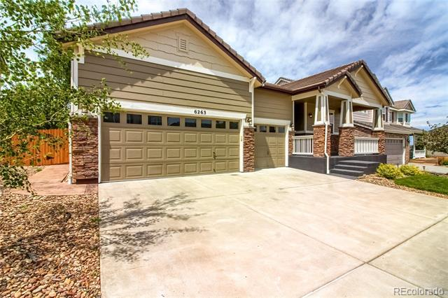 Photo of home for sale at 6263 Jackson Gap Court South, Aurora CO