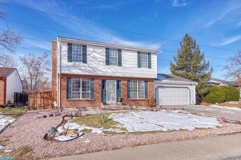 Photo of home for sale at 5289 Pagosa Way S, Centennial CO