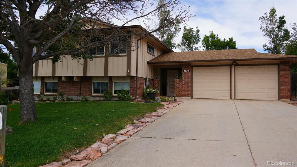 Photo of home for sale at 2928 Roche Drive N, Colorado Springs CO