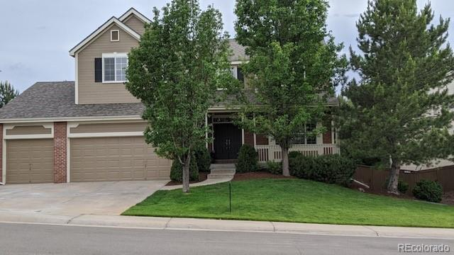 Photo of home for sale at 9917 Hawthorne Street, Highlands Ranch CO