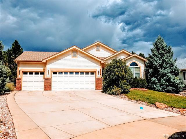 Photo of home for sale at 1185 Bulrush Drive, Castle Rock CO