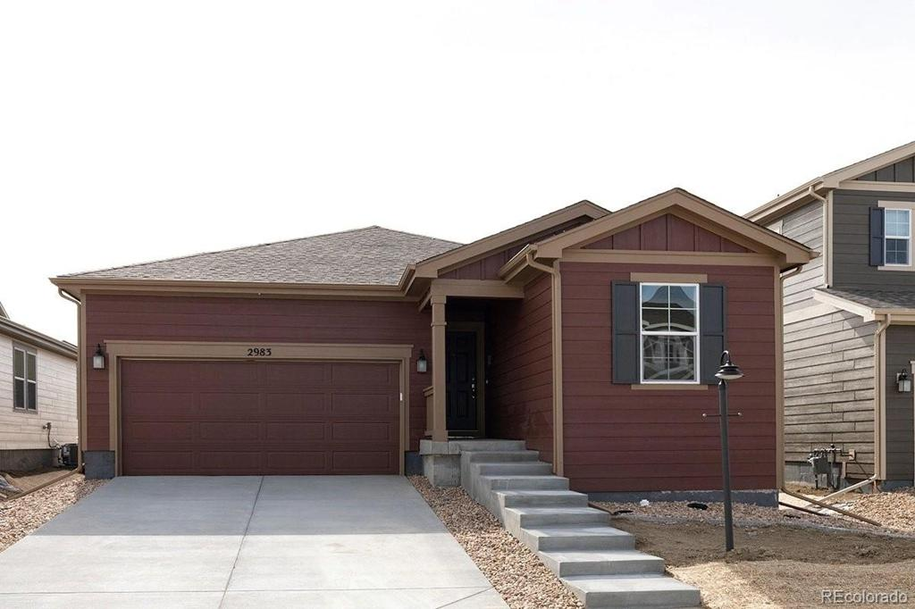 Photo of home for sale at 2983 Cub Lake Drive, Loveland CO