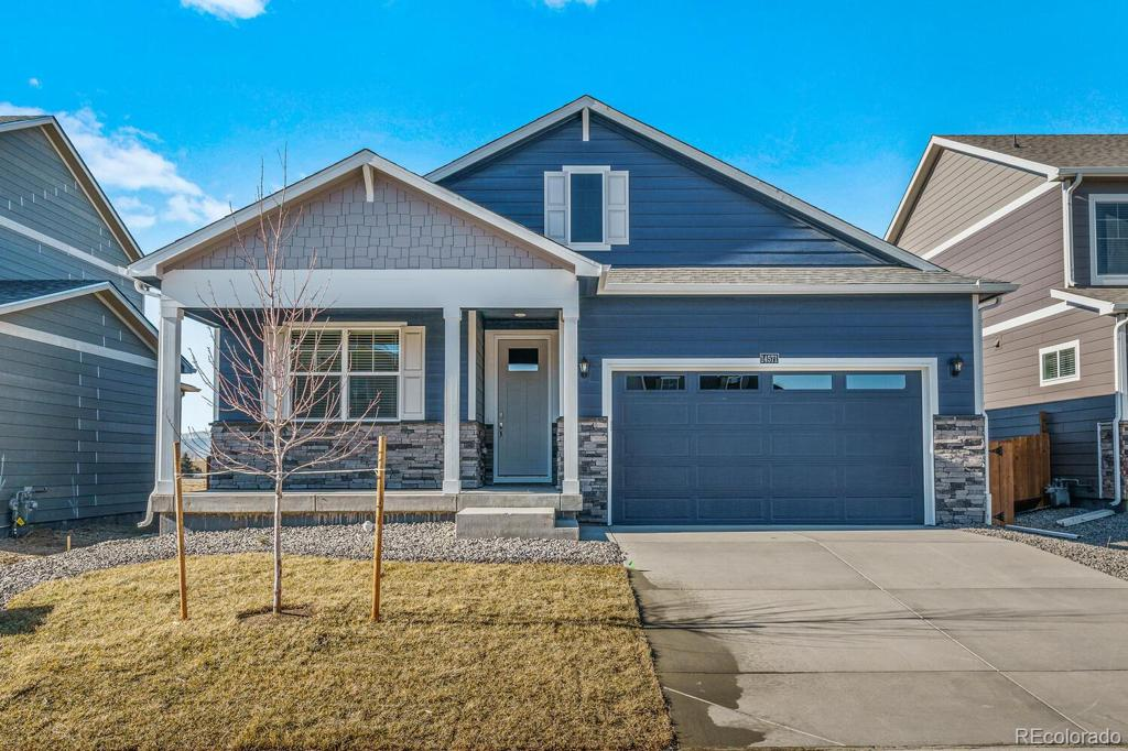 Photo of home for sale at 14032 Shasta Daisy Street, Parker CO