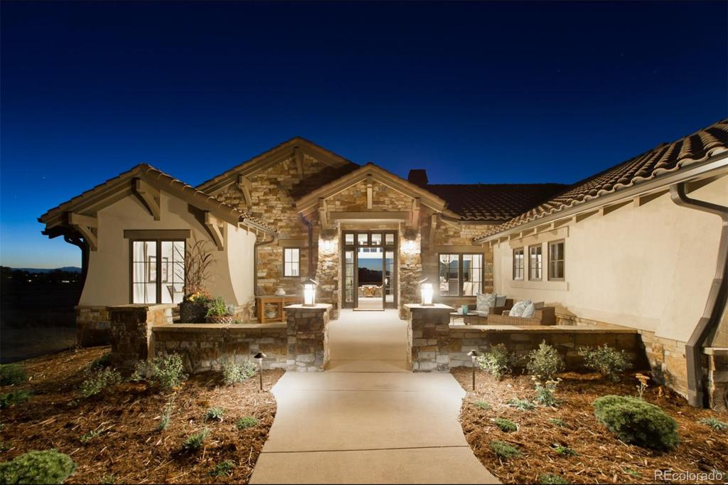 Photo of home for sale at 8801 Eagle Moon Way, Parker CO