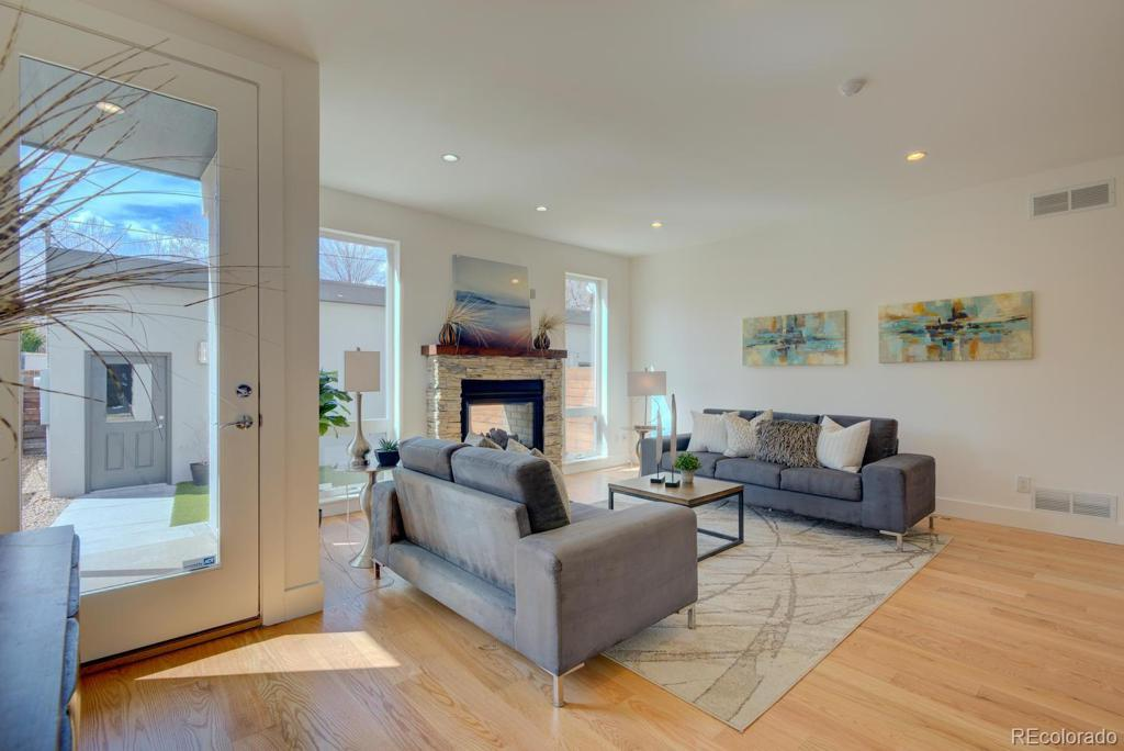 Photo of home for sale at 3553 Lowell Boulevard, Denver CO