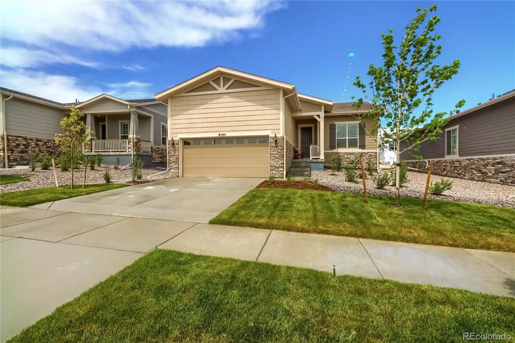 Photo of home for sale at 8505 Shawnee Court S, Aurora CO