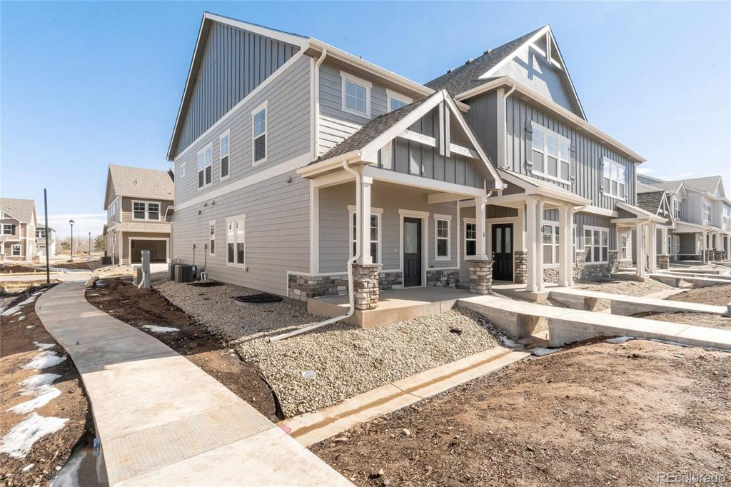Photo of home for sale at 2420 Ridge Top Drive, Fort Collins CO