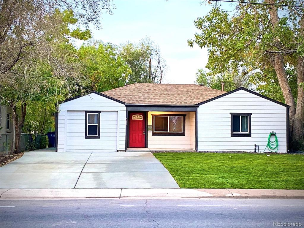 Photo of home for sale at 4515 10th Avenue W, Denver CO