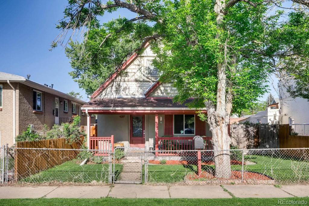 Photo of home for sale at 437 Logan Street S, Denver CO