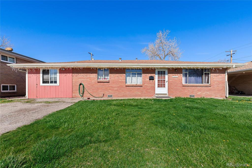 Photo of home for sale at 4693 Dudley Street, Wheat Ridge CO