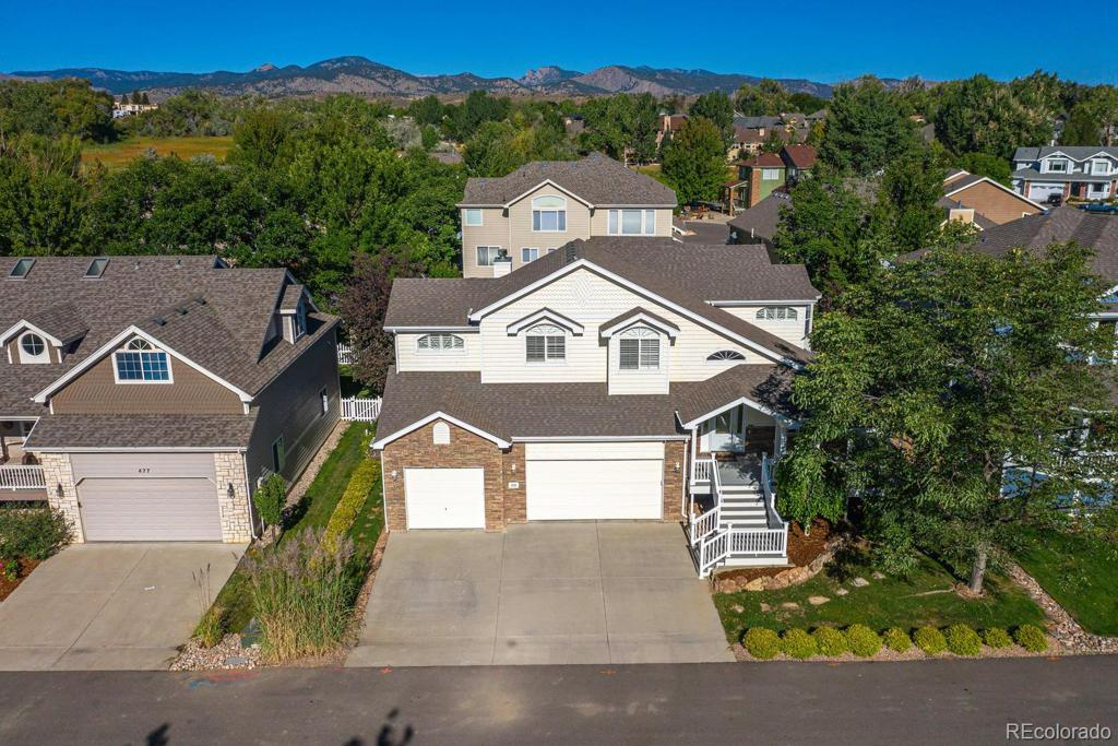 Photo of home for sale at 459 Cape Dory Drive, Loveland CO