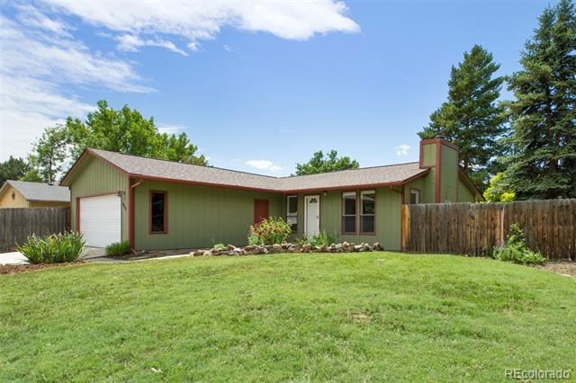 Photo of home for sale at 7557 Nikau Drive, Niwot CO