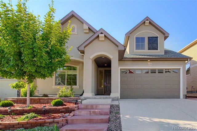 Photo of home for sale at 3502 First Light Drive, Castle Rock CO