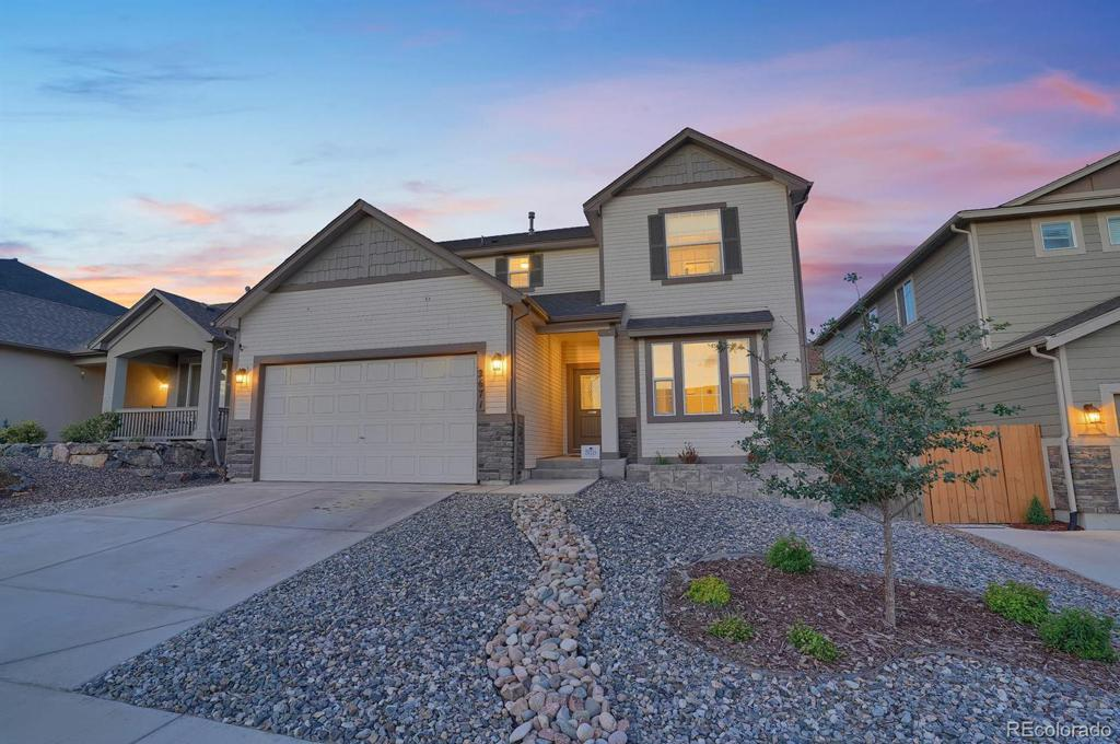 Photo of home for sale at 2671 Equine Court, Colorado Springs CO