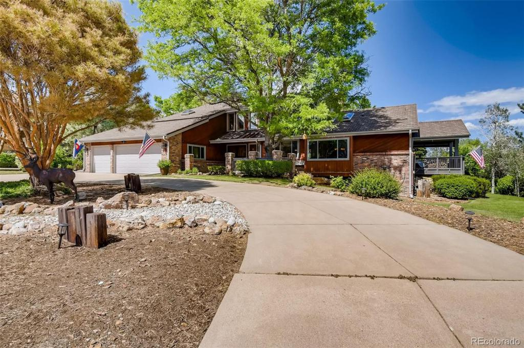 Photo of home for sale at 7618 Storm Mountain S, Littleton CO