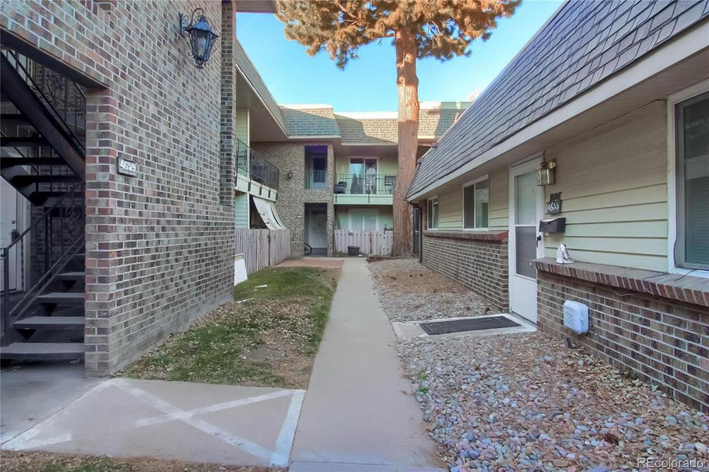 Photo of home for sale at 4659 Lowell Boulevard S, Denver CO