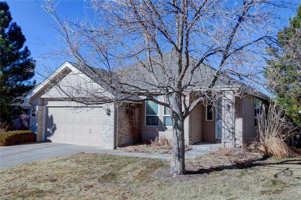 Photo of home for sale at 857 Appleby Place, Castle Rock CO