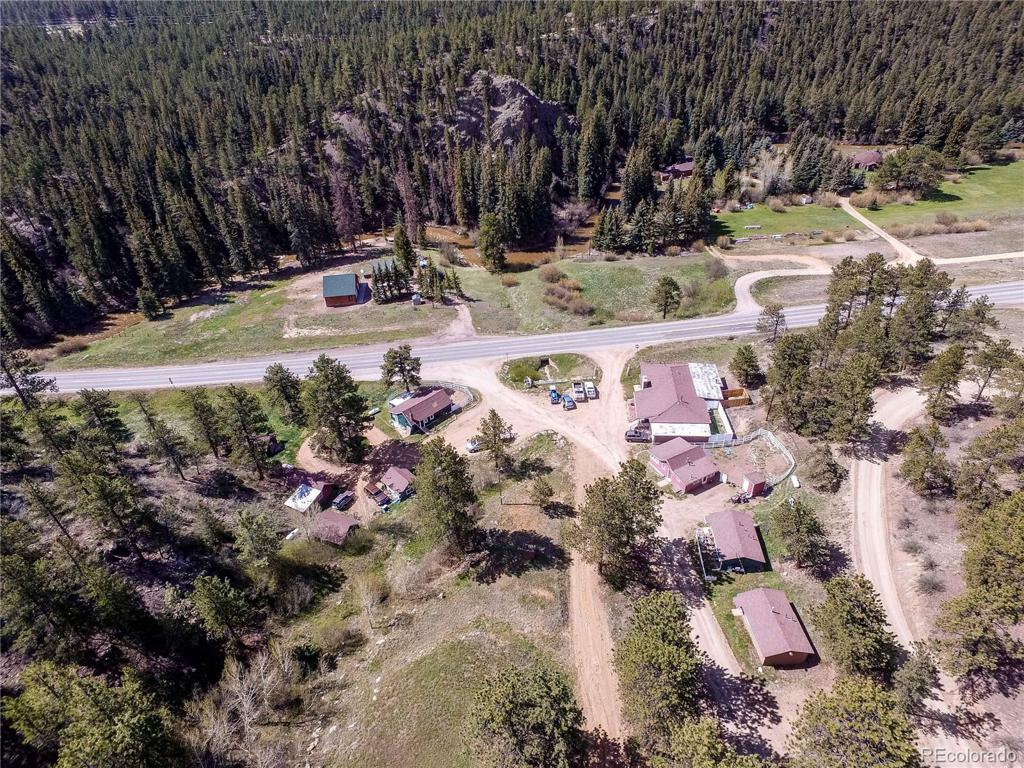 Photo of home for sale at 58415 US Highway 285, Bailey CO