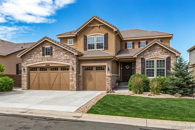 Photo of home for sale at 22087 Rowland Drive E, Aurora CO