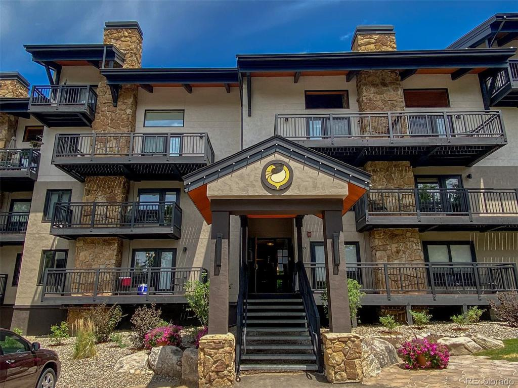 Photo of home for sale at 2322 Apres Ski Way, Steamboat Springs CO
