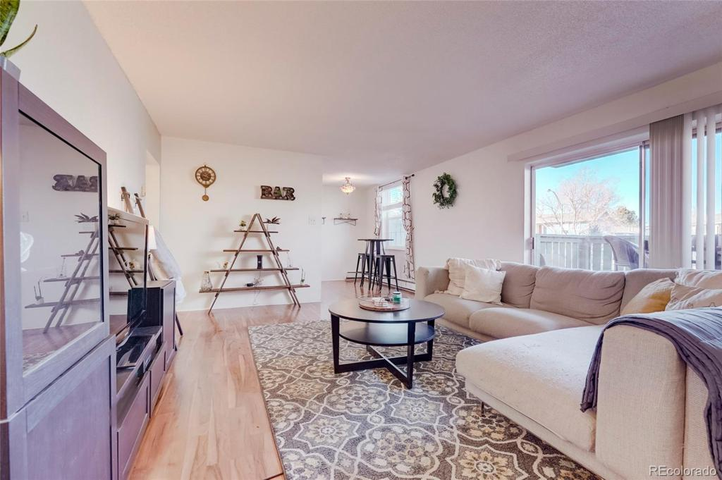 Photo of home for sale at 2120 Vaughn Way S, Aurora CO