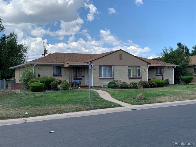 Photo of home for sale at 3205 Pontiac Street, Denver CO