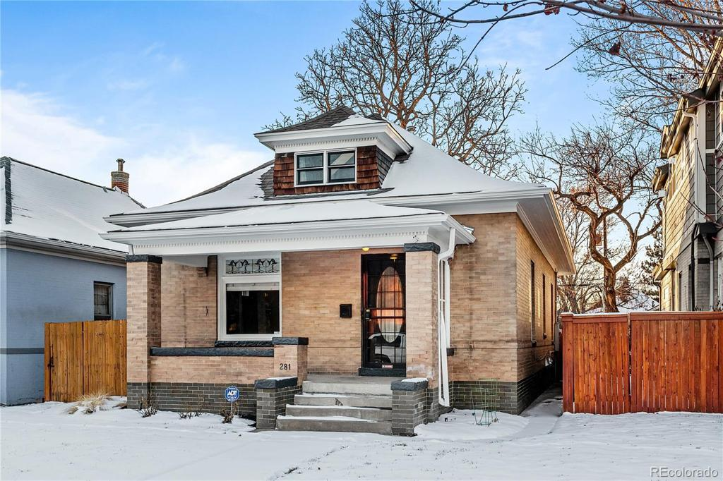 Photo of home for sale at 281 Corona Street S, Denver CO