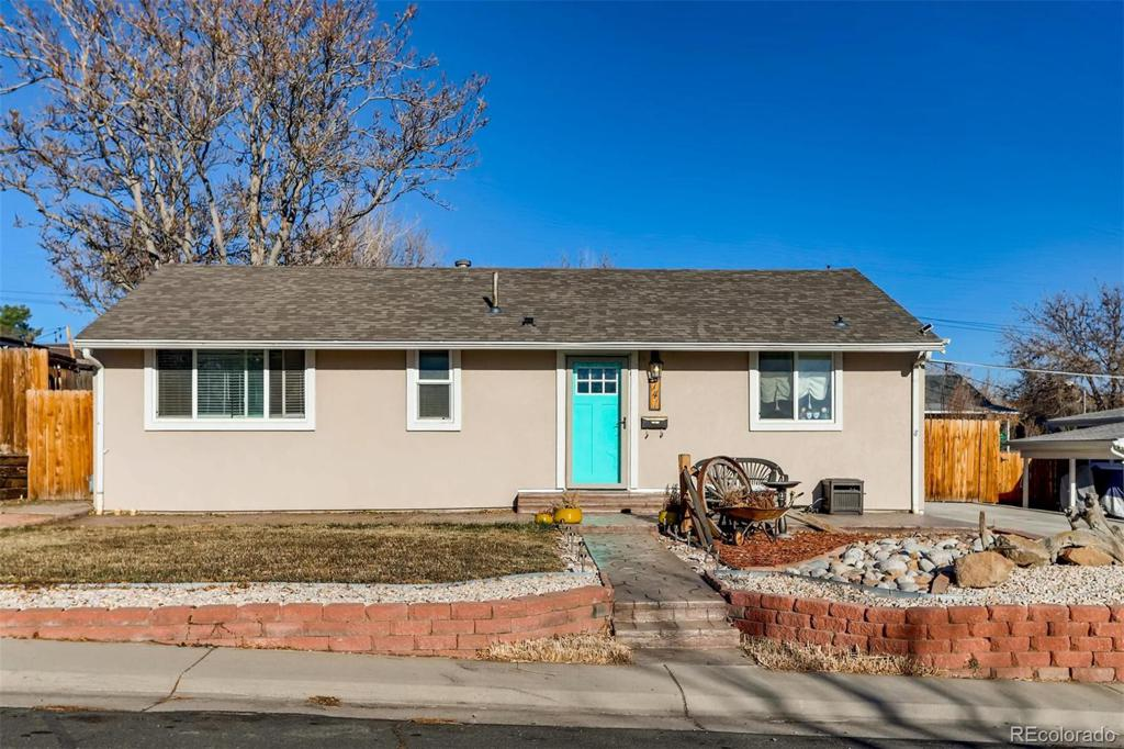 Photo of home for sale at 741 Cortez Street, Denver CO