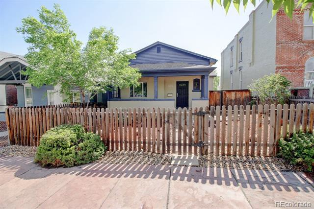 Photo of home for sale at 1224 Kalamath Street, Denver CO