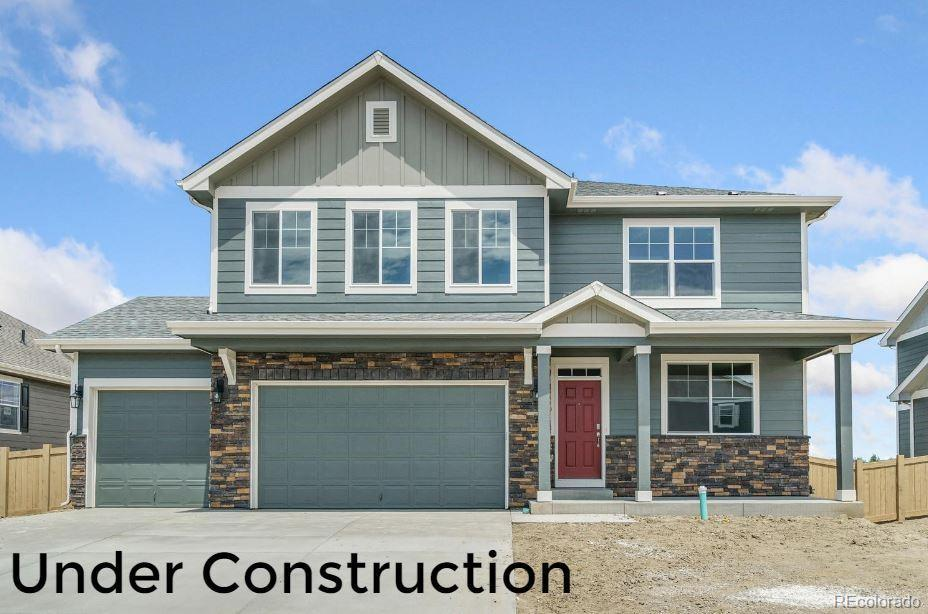 Photo of home for sale at 1417 Vantage Parkway, Berthoud CO