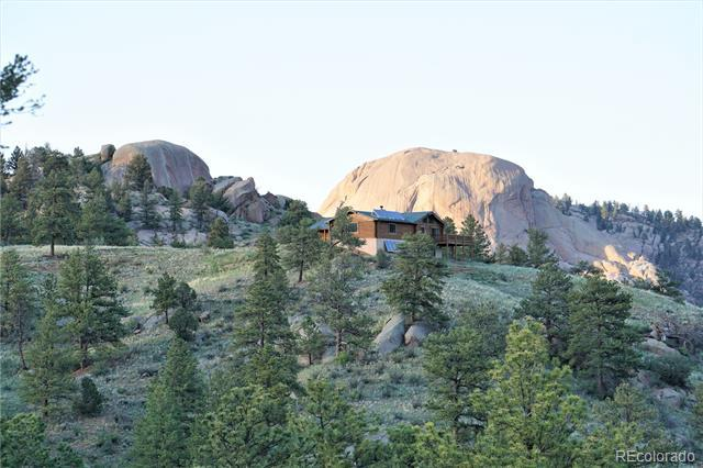 Photo of home for sale at 600 Navajo Trail, Florissant CO