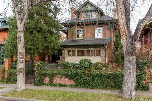 Photo of home for sale at 714 Humboldt Street North, Denver CO