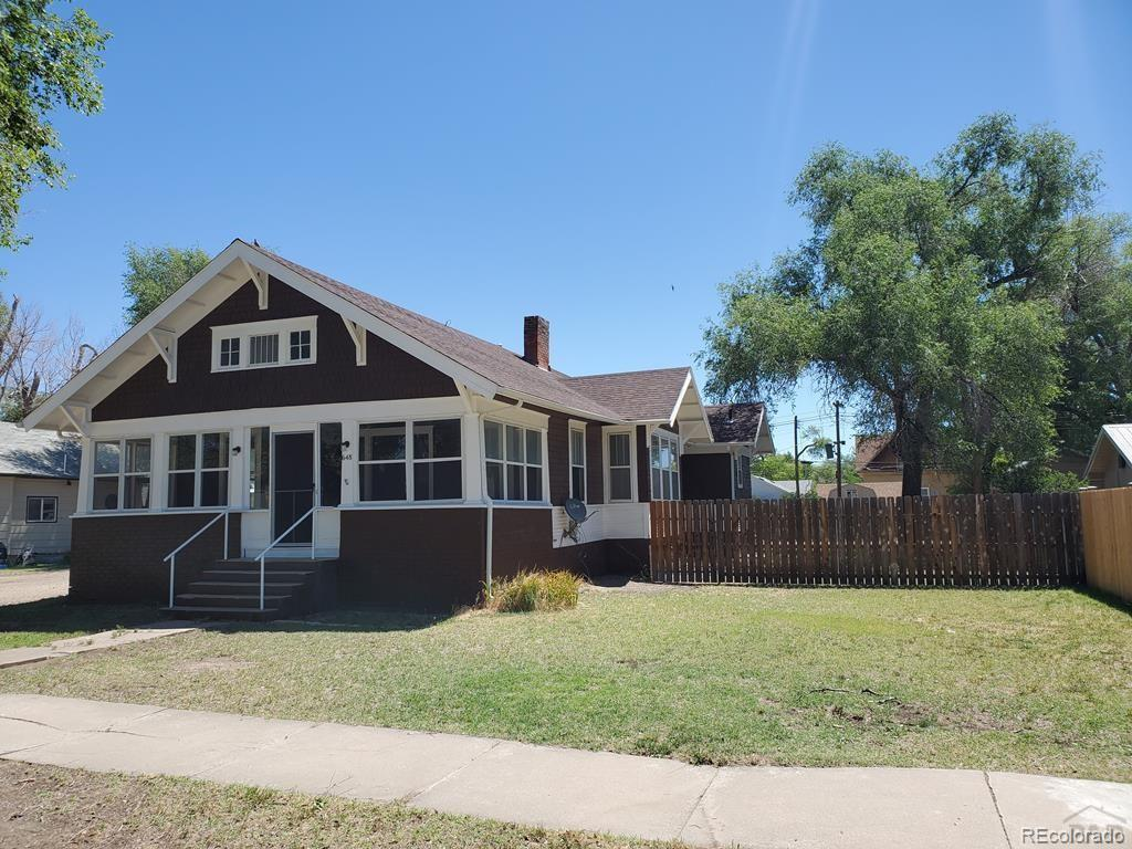 Photo of home for sale at 648 Maple, Las Animas CO