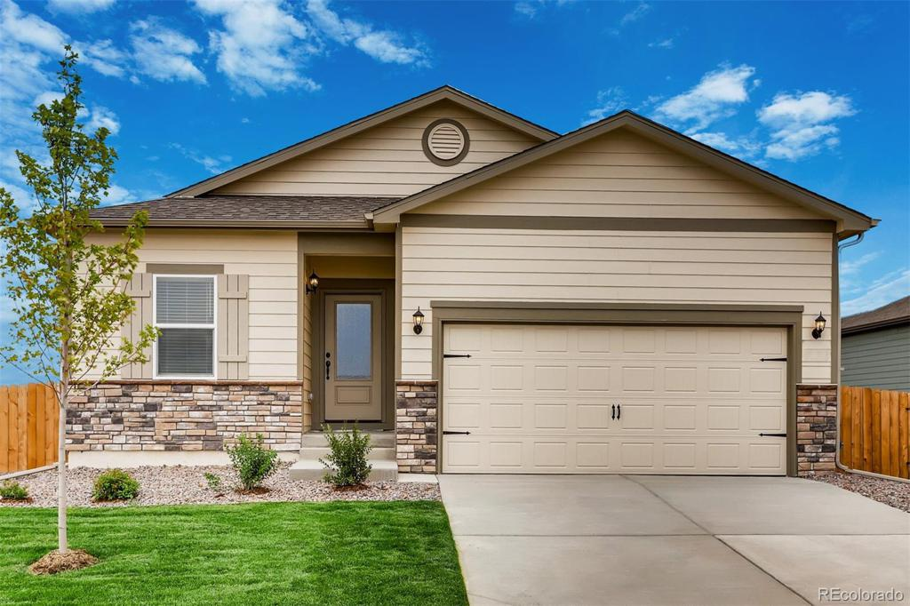 Photo of home for sale at 18151 E 89th Place, Commerce City CO