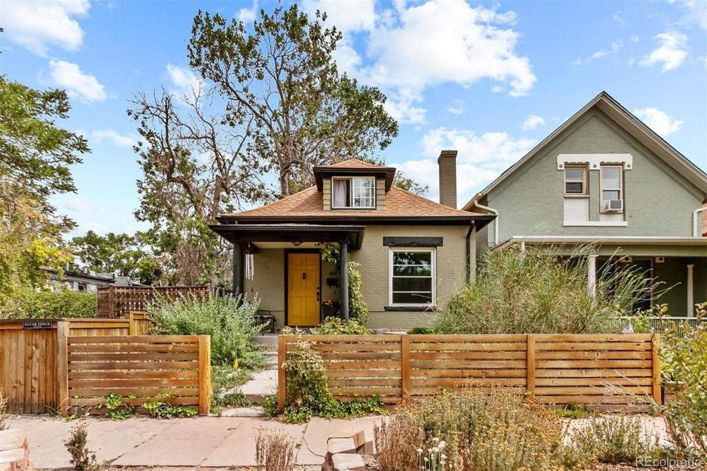 Photo of home for sale at 460 Fox Street, Denver CO