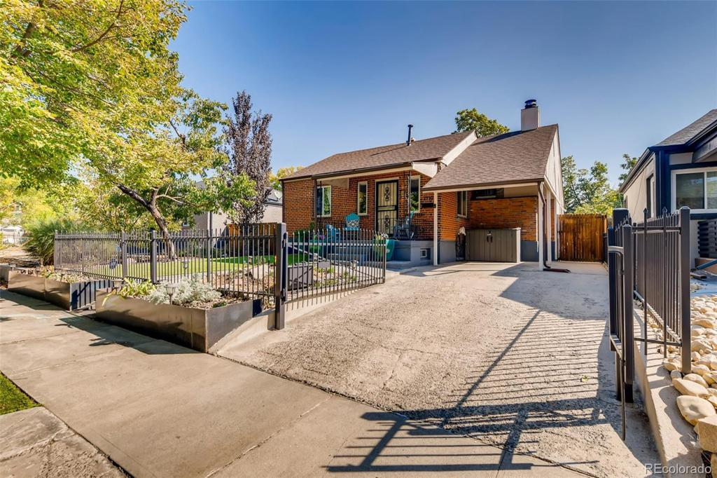 Photo of home for sale at 2430 Osceola Street, Denver CO