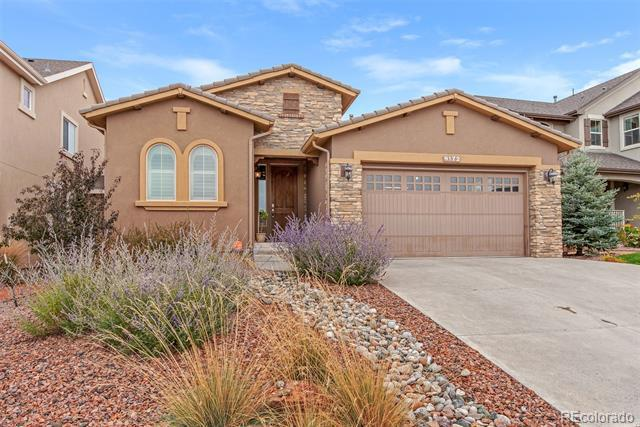 Photo of home for sale at 9172 Lizard Rock Trail, Colorado Springs CO